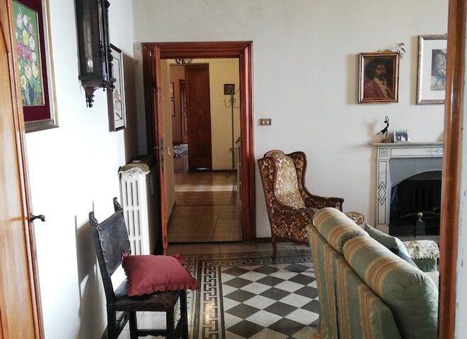 Sala e corridoio